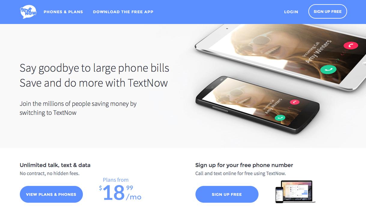textnow-phones